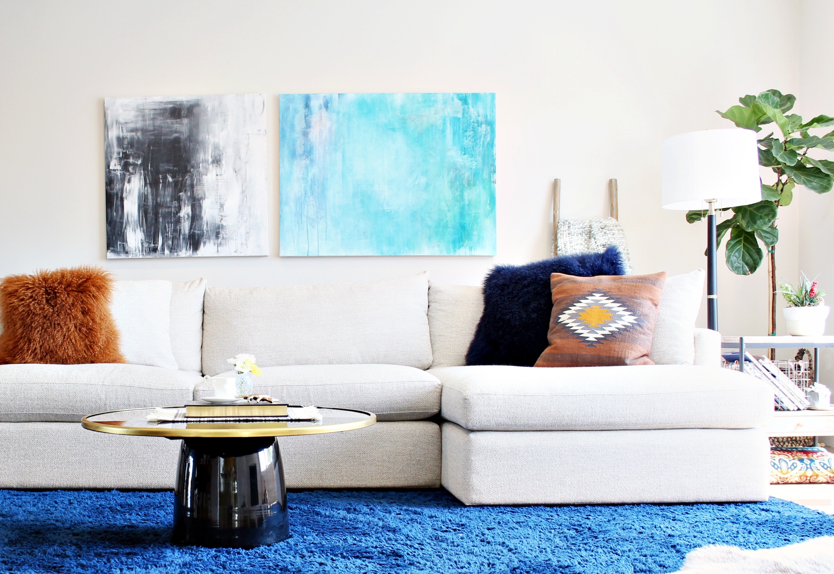 How To Decorate A Large Wall Space Habit